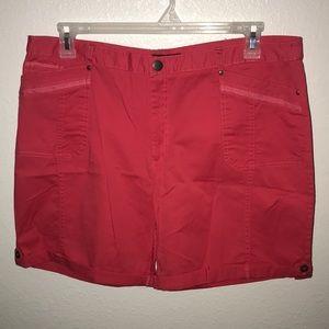 Counterparts women pink tab shorts Size 16